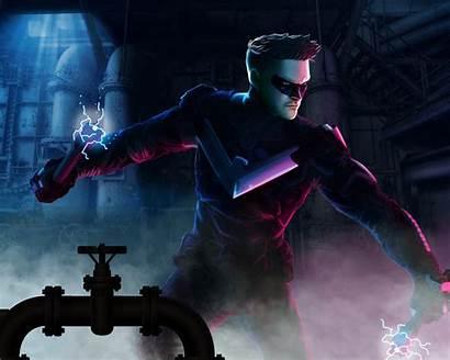 Nightwing 4k Wallpapers Resolution Superheroes Behance Artwork