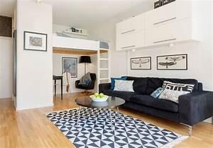Einrichtung Kleine Wohnung : 143 best 1 zimmer wohnung einrichten images on pinterest ~ Watch28wear.com Haus und Dekorationen