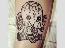 Signification Tatouage Elephant Origami Tattooart Hd