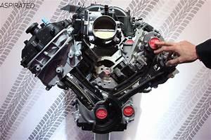 First Look  Inside The Ford Gt350 U2019s Flat Plane Crank 5 2l V8