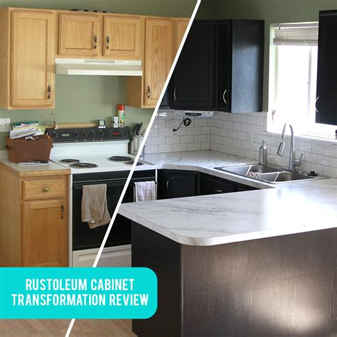 Rustoleum Cabinet Transformation - rustoleum cabinet transformations review before after