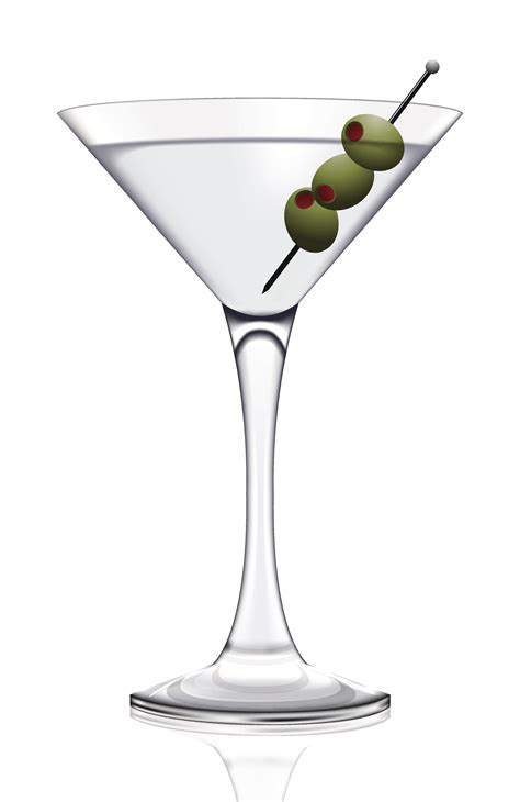 Martini Glass Silhouette Png