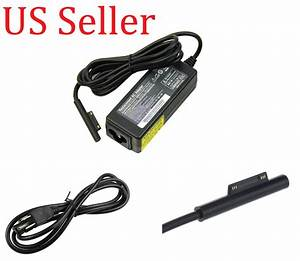 new ac adapter charger for microsoft surface pro3 usb plug With power adapter