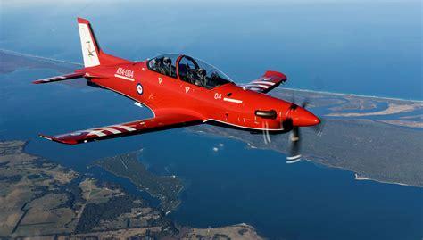 Australia Welcomes New Pilatus PC-21 Turboprop Trainers