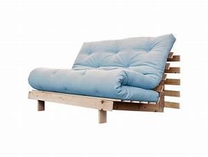 Schlafsofa 140 Cm : schlafsofa roots raw 140 cm hellblau karup ~ Watch28wear.com Haus und Dekorationen