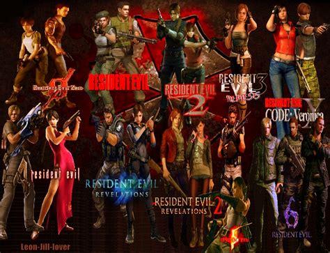 Resident Evil Order Resident Evil Series By Leon Jill Lover On Deviantart