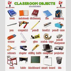 Classroom Objects Wwweltelscom