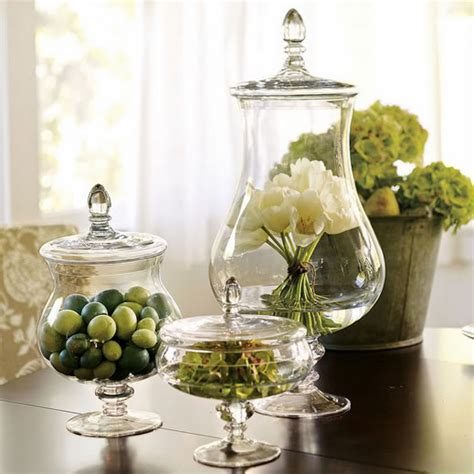 Decorating Ideas For Jars by Decorating With Apothecary Jars Blushing Black