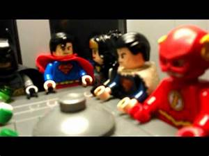 Lego justice league watchtower moc - YouTube