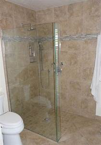 Master Bath Remodel With Curbless Shower Pan And Frameless