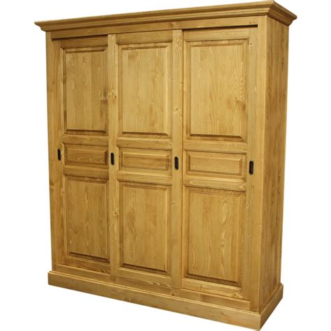 Armoires Portes Coulissantes by Armoire 3 Portes Coulissantes
