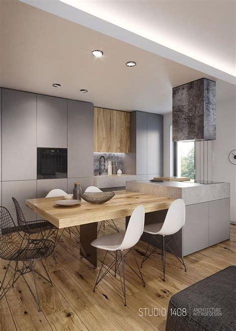 black  white wood kitchen design ideas