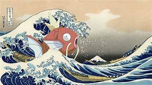The Great Wave Off Kanagawa Wallpaper ·①