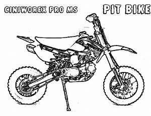 dirt bike ciniworex pit bike coloring page dirt bike With bbr pit bike hondas