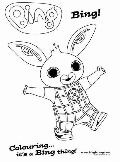 Bing Bunny Coloring Colouring Fun Screen