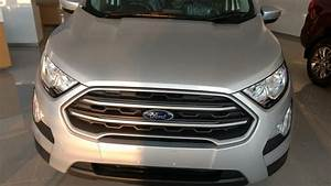 New Ford Ecosport Trend Plus Moon Dust Silver Colour First