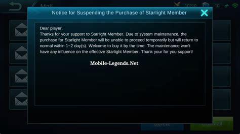 Can't Buy Starlight Member 2019
