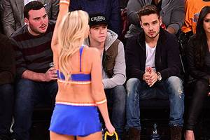 Niall Horan and Liam Payne watch the NY Knicks - Oh No ...