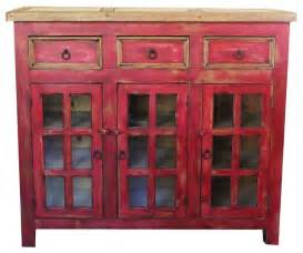 distressed red vanity 48x20x32 rustic accent chests