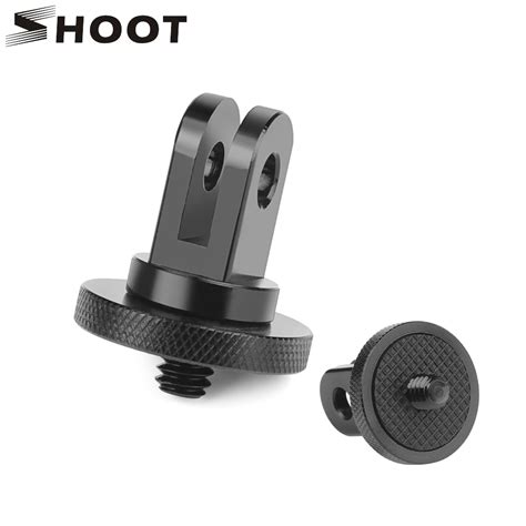 shoot metal mini tripod adapter mount gopro hero