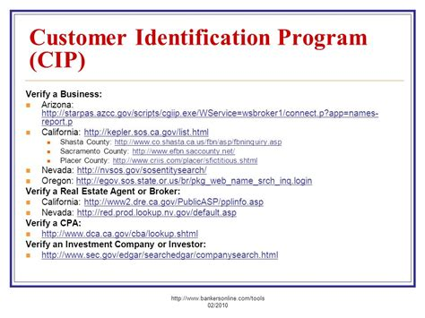BSA-AML-CIP-OFAC For New Accounts - ppt video online download