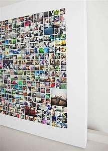 Wand Mit Fotos Gestalten : fotowand selber machen 66 wundersch ne ideen und inspirationen ~ Orissabook.com Haus und Dekorationen