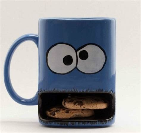 NerdyMugs.com   Cookie Monster Cookie Holder Mug*