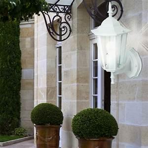 Led Laterne Garten : led haus wand terrassen glas leuchte alu laterne garten au en lampe ip44 wei ebay ~ Whattoseeinmadrid.com Haus und Dekorationen