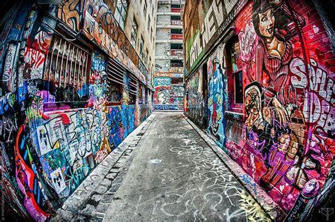 fisheye street art photograph  tom cunningham