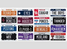 My Plates releases previously reserved Texas license plate