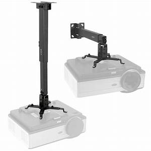 Vivo Universal Adjustable Wall Ceiling Projector Mount