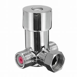Hot And Cold Thermostat Valve Temperature Mixing Valve Brass Faucet Control Valve