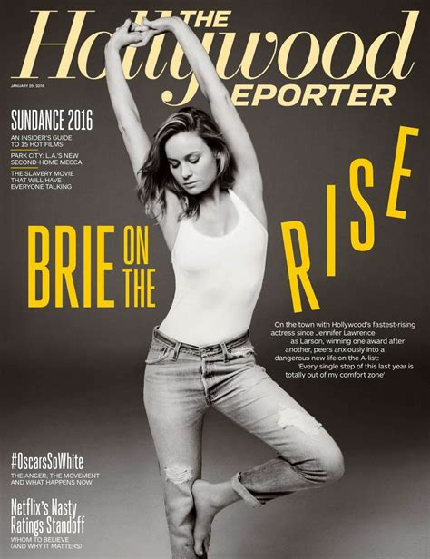 BRIE LARSON in The Hollywood Reporter Magazine, January ...