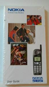 Nokia 5185i Cell Phone User Manual Guide Instructions New
