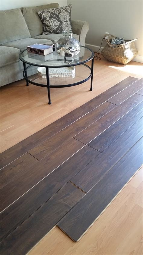 Help choose light vs dark wood floor