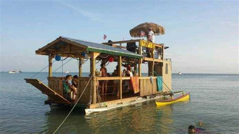 Tiki Bar Boat by Floating Tiki Bar The Hull Boating And Fishing Forum