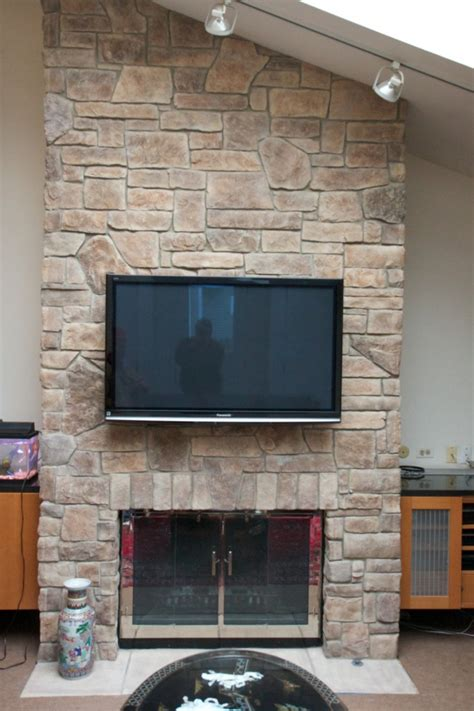 cobblestone fireplace stone fireplaces with tvs north star stone