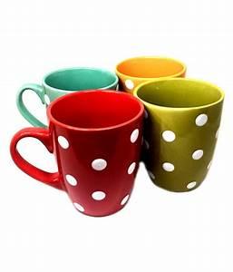 Ceradeco, Ceradeco, Coffee, Mugs, Ceramic, Coffee, Mug, 4, Pcs, 140, Ml, Buy, Online, At, Best, Price, In, India