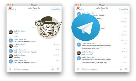 libreria python implementiamo un bot telegram con python ludus russo