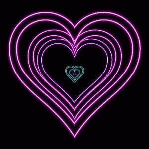 Neon Heart GIF Neon Heart Discover & GIFs