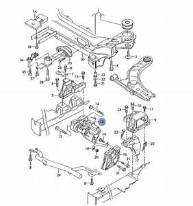 Motor Support  Console  Support For Vw Bora  Golf 4  Skoda