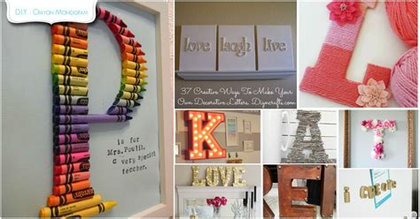 Letter K Home Decor : Decorating With Letters And Words