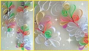 *Paper Swirls Room Decoration DIY* - YouTube