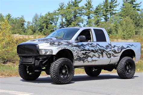 Dodge Ram Lifted by Show Truck 2005 Dodge Ram 3500 Laramie Lifted For Sale