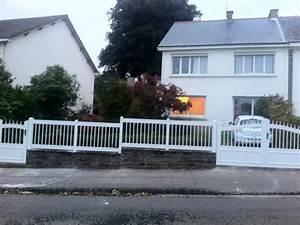 Portail De Maison : portail de cl ture en pvc pour maison individuelle ~ Premium-room.com Idées de Décoration