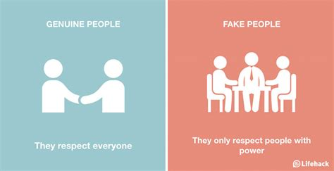 fake nice people  genuine  ways  identify