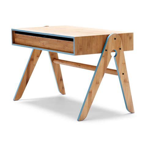 bureau bleu bureau enfant geo bleu we do wood pour chambre enfant