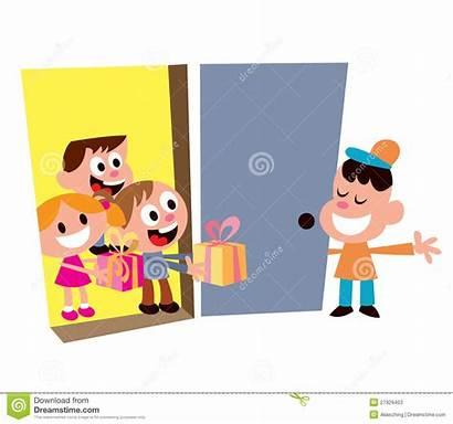 Welcome Guests Benvenuti Partito Ospiti Bambini Dei