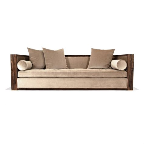 hudson furniture upholstered divan sofa