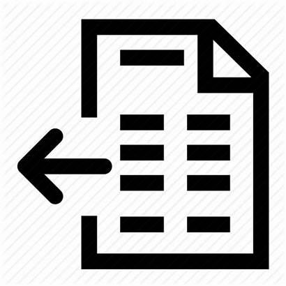 Icon Return Books Invoice Proforma Clipart Works